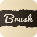Free fonts - Brush icon