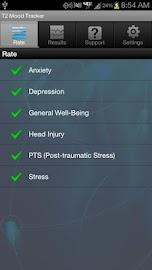 T2 Mood Tracker Screenshot 2