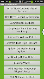 HVAC Answer Guides screenshot 0