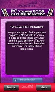 Do you make good first impress- screenshot thumbnail