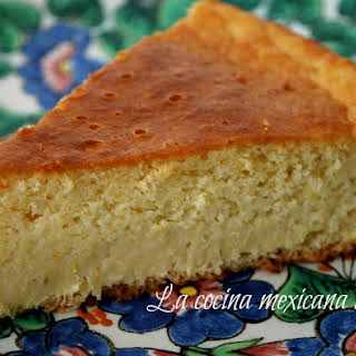 Mexican Sweet Corn Cake.