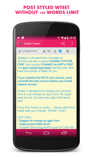 Fonter Pro - Best Font manager