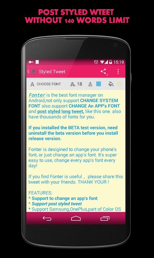 Fonter Pro - Best Font manager APK Cracked Free Download | Cracked