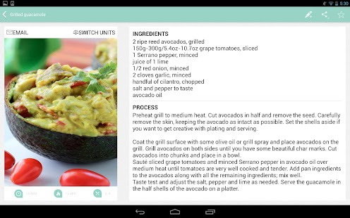Caveman Feast - Paleo recipes- screenshot thumbnail