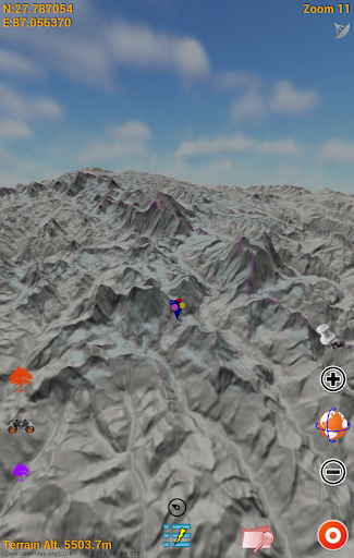 3D maps (Terrain) screenshot