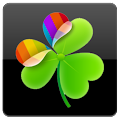 Black chrome Go Launcher theme APK for Bluestacks