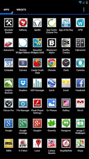 Grey frame icons