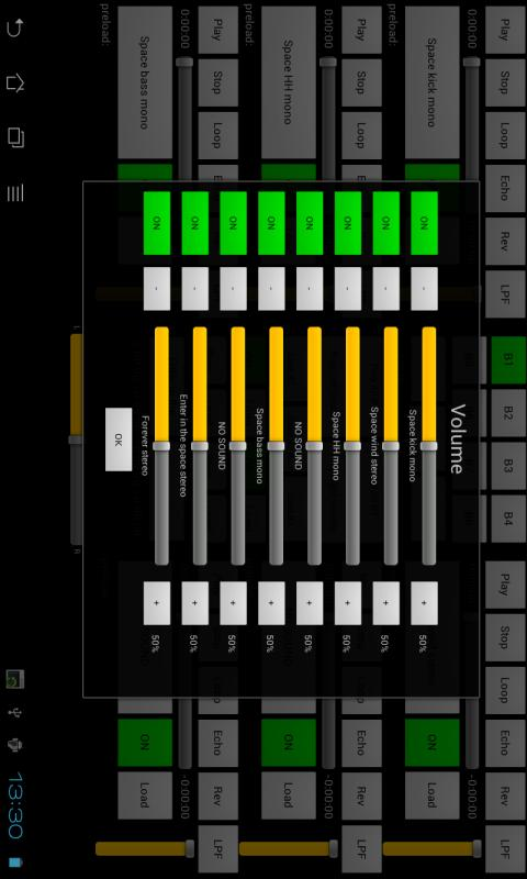 Live Touch XJ DJ console mp3 - screenshot