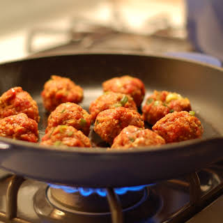 Spicy Meatballs.