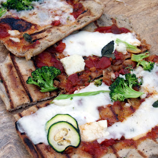 Neglected Starter Sourdough Pizza Crust/Skillet Flatbread/Grillbread Recipe