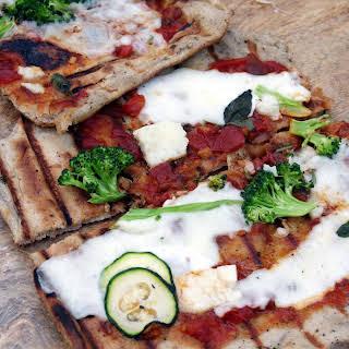 Neglected Starter Sourdough Pizza Crust/Skillet Flatbread/Grillbread.