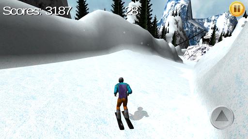 滑雪运动模拟器 3D