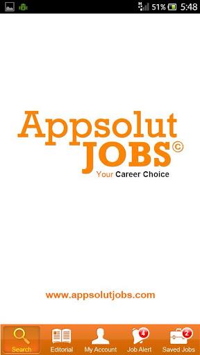 Appsolutjobs Smartphone