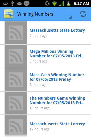 Massachusetts Lottery Winning Numbers