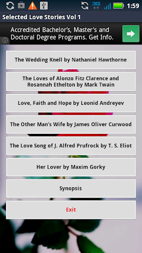 Love Stories - AudioBook