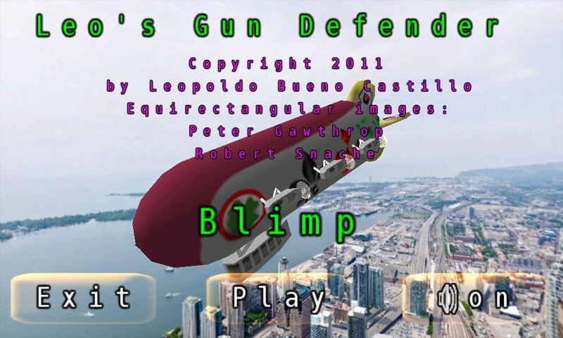 Leo's Gun Defender: captura de pantalla