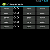 OStopWatch Transparency Timer