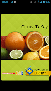 Citrus ID- screenshot thumbnail
