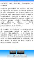 Screenshot of Direito do Trabalho
