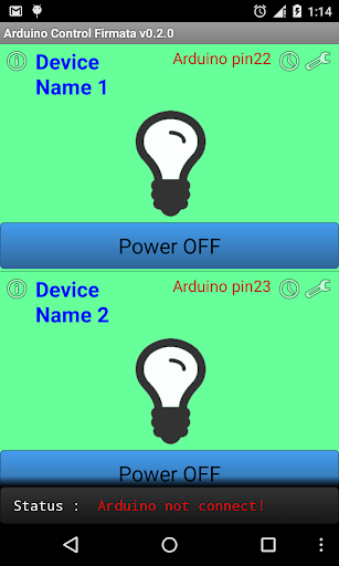 Arduino USB Smart home Control