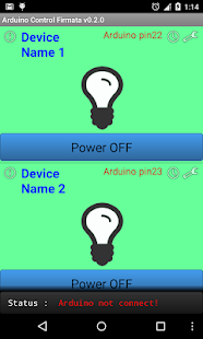 Arduino USB Smart home Control- screenshot thumbnail