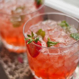 Strawberry-Infused Bourbon.