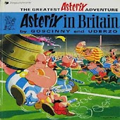 Comic Asterix in Britain