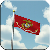 US Marines Flag Live Wallpaper