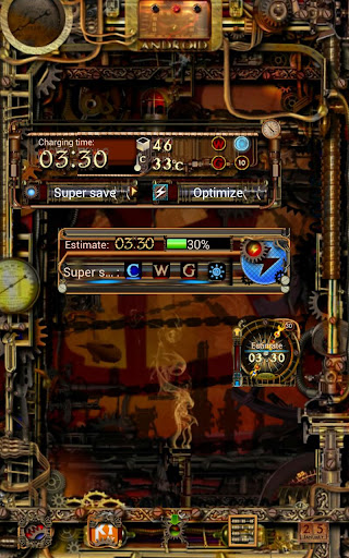 Steampunk Power Master Widgets