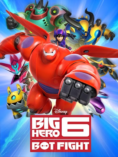Big Hero 6: Bot Fight - screenshot