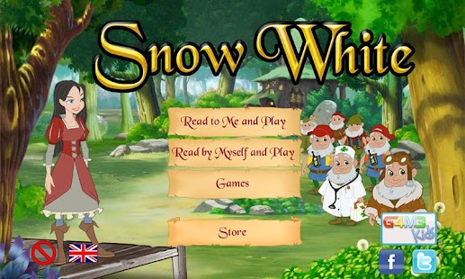 Snow White interactive story - screenshot thumbnail