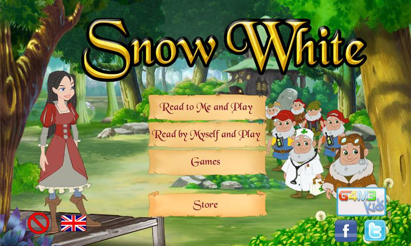 Snow White interactive story - screenshot