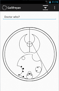 Gallifreyan Translator- screenshot thumbnail