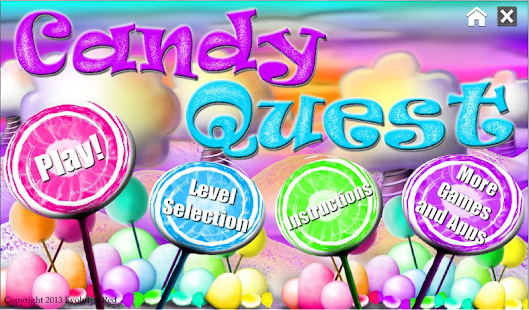 Candy Quest Hidden Objects