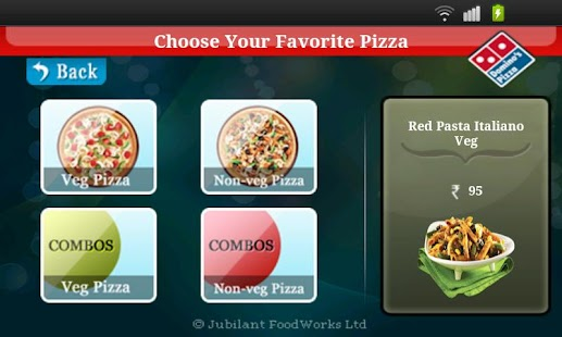 Domino's Pizza India - screenshot thumbnail