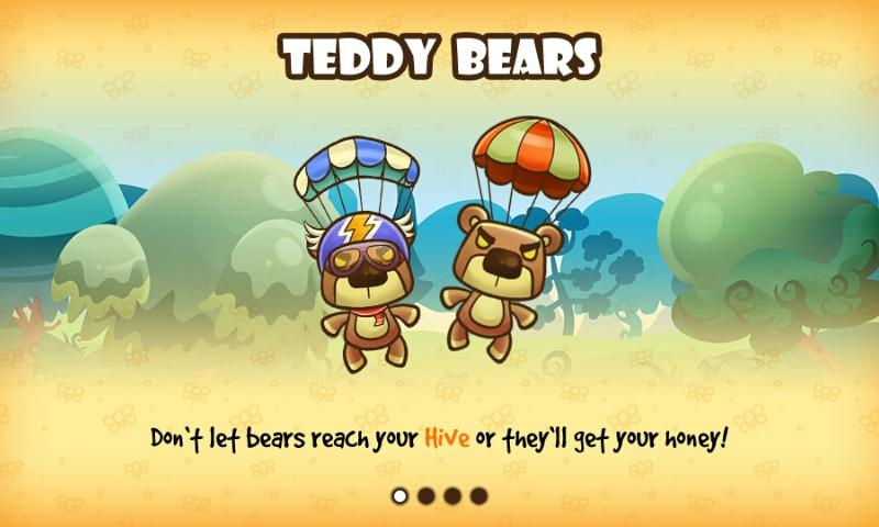Honey Battle - Bears vs Bees - screenshot