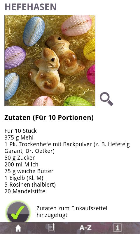 Ostern mit essen&trinken - screenshot