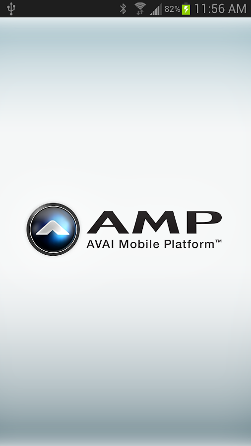 AMP App - screenshot