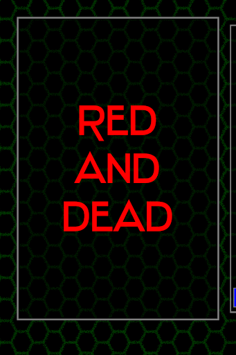 Red And Dead