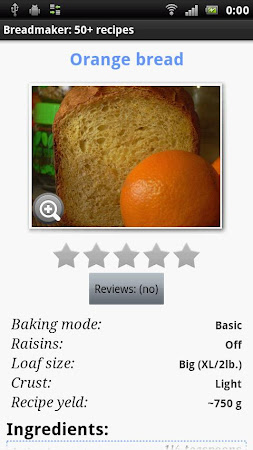 Breadmaker: 50+ recipes 13 screenshot 463174