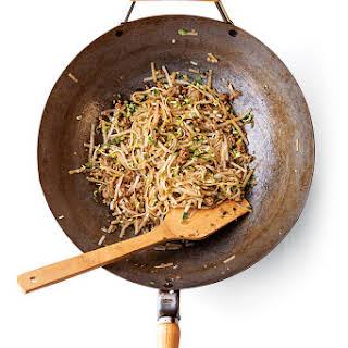 Stir-Fried Breakfast Noodles.
