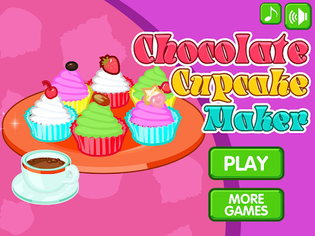 Chocolate cupcake maker 1.0.8 screenshot 560514