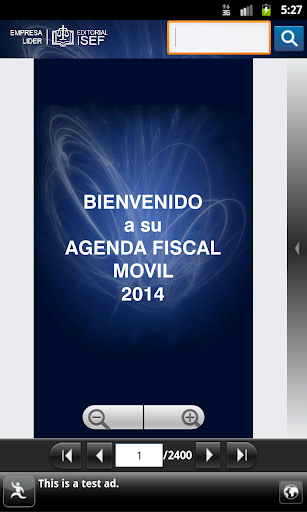 Agenda Fiscal Isef 2014