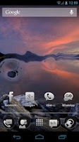 Screenshot of Waterize Live Wallpaper