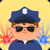 Kids police car