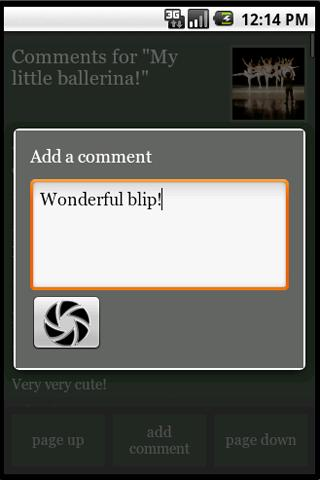 AndroBlip - screenshot