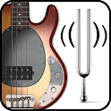 Bass Guitar Tuner (Free) icon