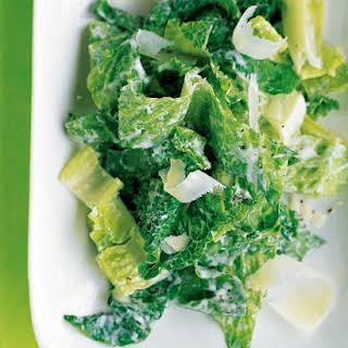Romaine Salad with Caesar Dressing.