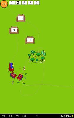 TooTooNi Train Tracks Game - screenshot