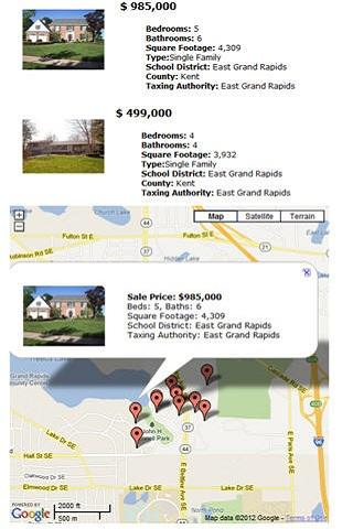 GRAR Grand Rapids Real Estate- screenshot